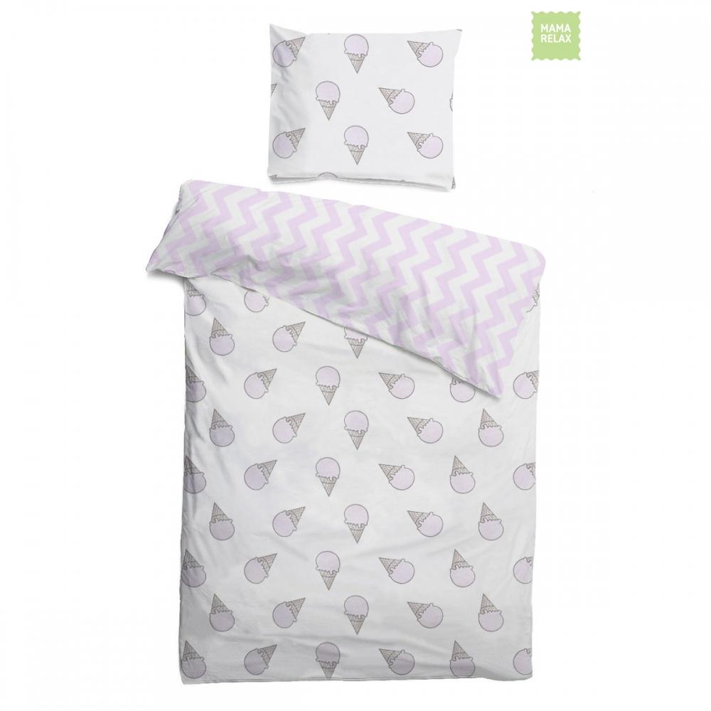 Комплект детского постельного белья Розовые мечты