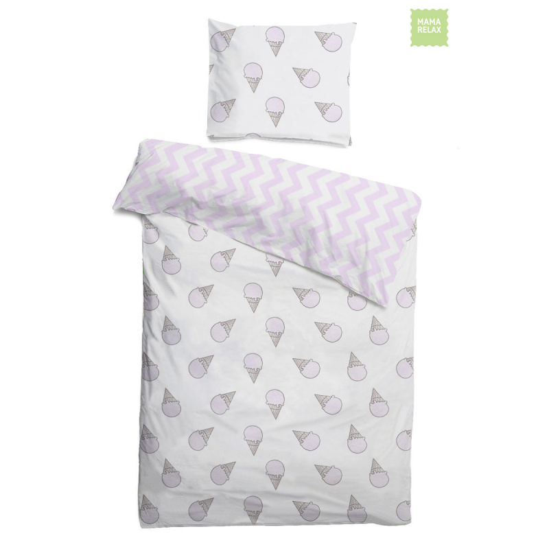 Mama Relax Комплект детского постельного белья Розовые мечты