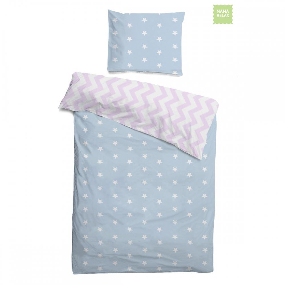 Mama Relax Комплект детского постельного белья Клубника со сливками