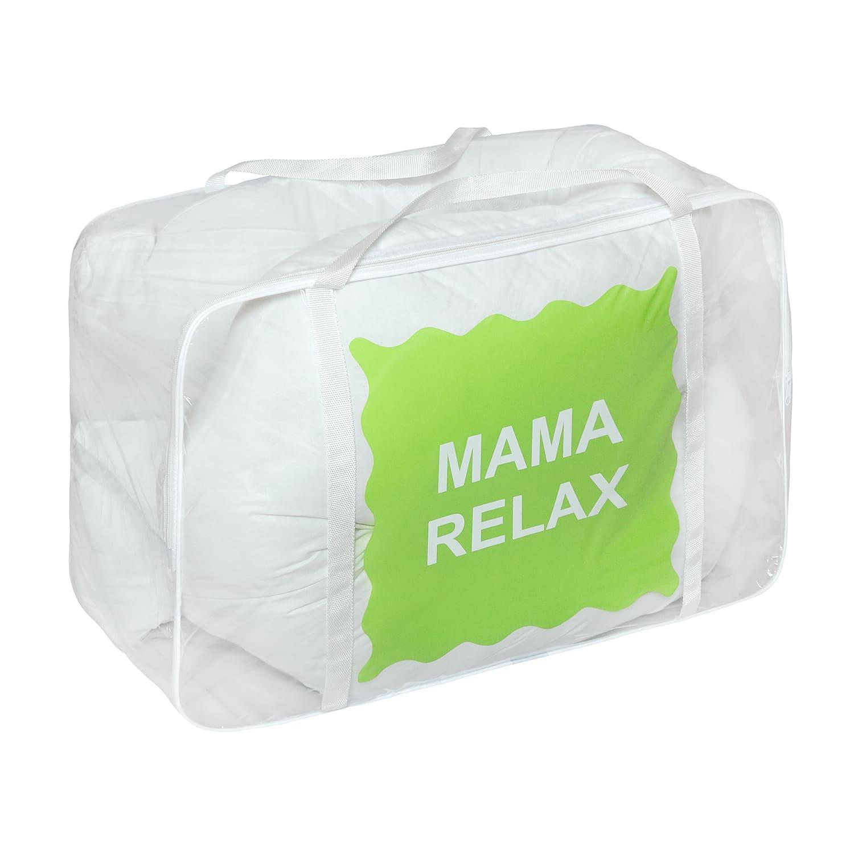 Подушка Mama Relax для беременных U 340 + наволочка поплин  Нежно-белая