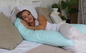 Подушка Mama Relax для беременных U 340 + Наволочка сатин Тиффани