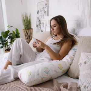 Подушка для беременных на все тело U 280 + Наволочка поплин lux  Sweethome