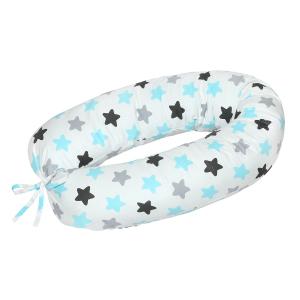 Подушка Mama Relax для кормления бумеранг I 170 см + Наволочка Прянички нежные