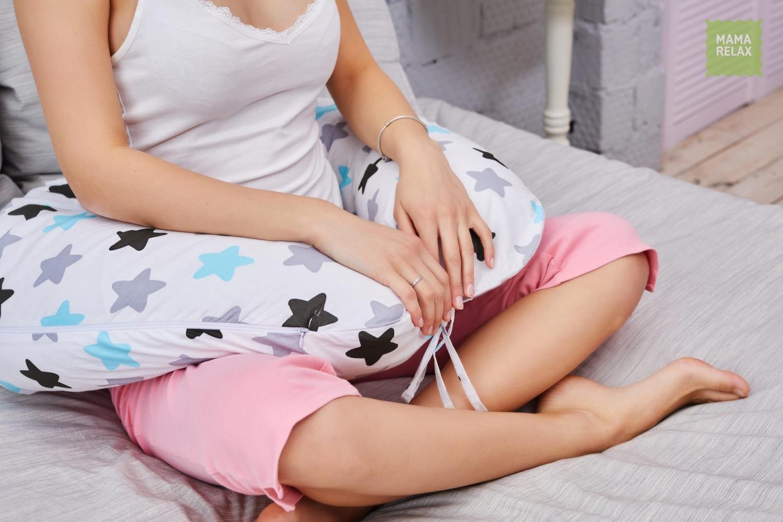 Подушка для беременных на все тело  I170+ Наволочка для I170  Прянички нежные