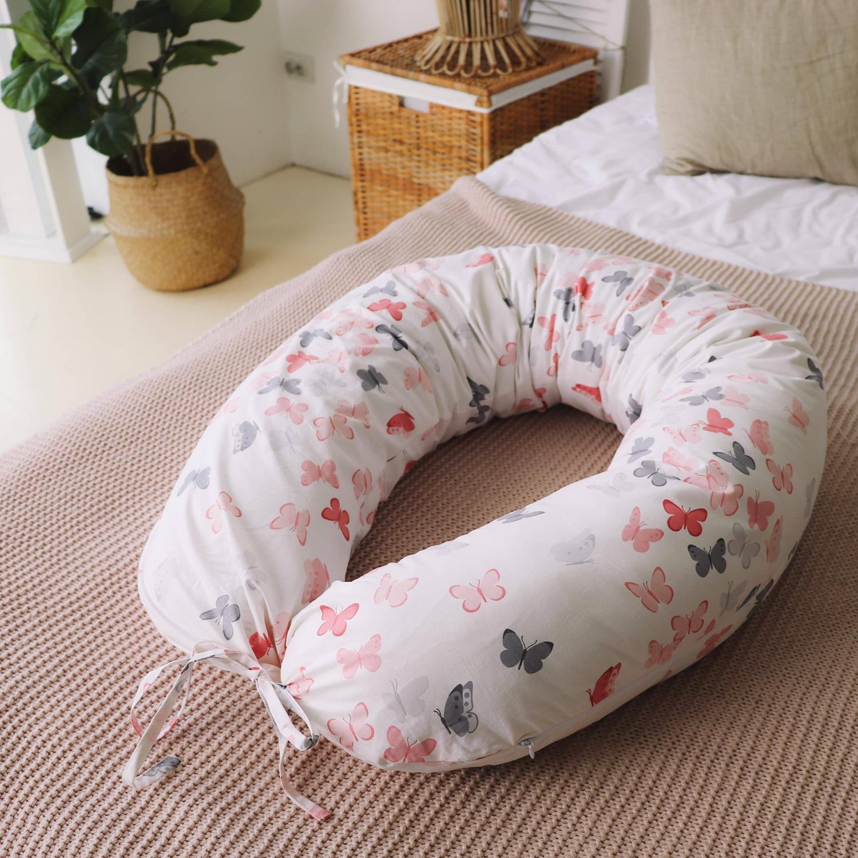 Подушка для беременных на все тело  I170+ Наволочка для I170 Бабочки