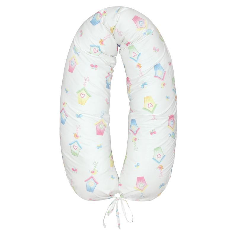 Подушка Mama Relax для кормления бумеранг I 170 см + Наволочка Sweethome
