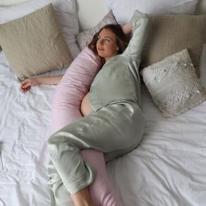 Подушка для беременных на все тело  I170+ Наволочка для I170 Розовый