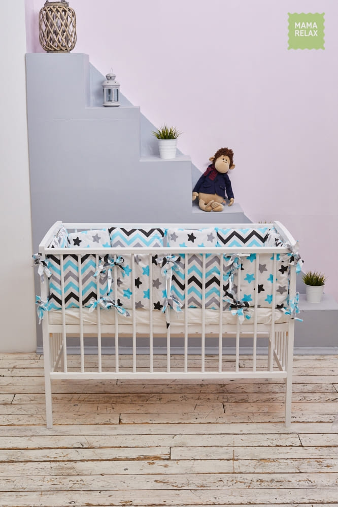 Детские бортики в кроватку - Нежные сны