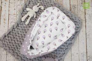 Гнездышко для новорожденного - Сладкая звездочка