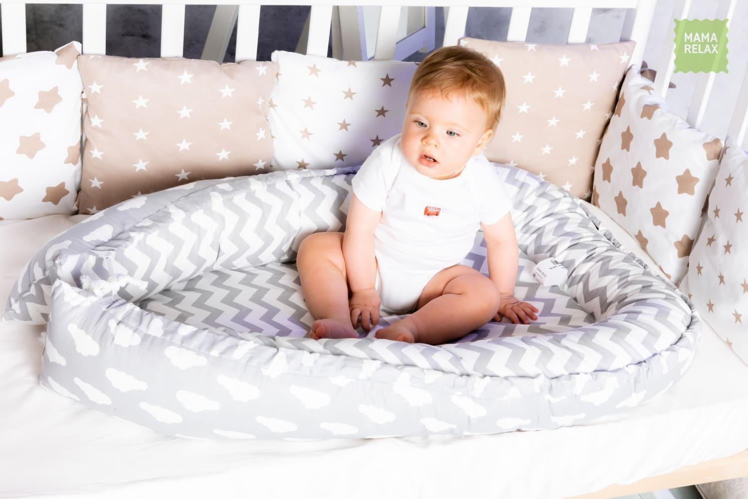 Гнездышко для новорожденного - Зефир