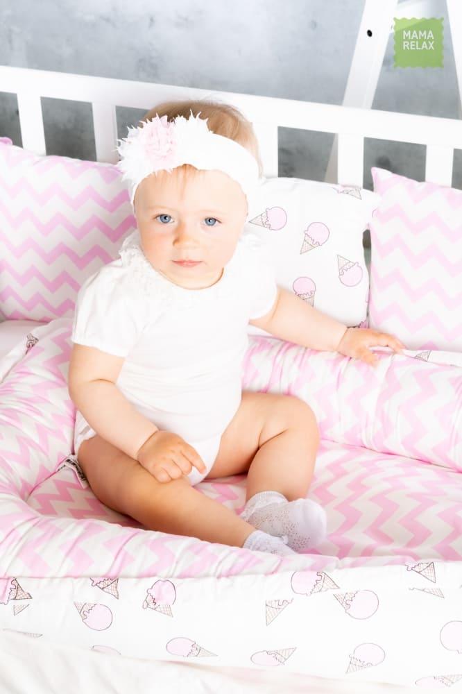 Гнездышко для новорожденного - Розовые мечты