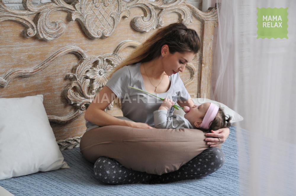 Mama Relax Наволочка I170 Мокко