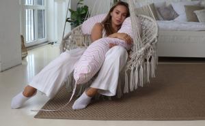 Mama Relax Наволочка I170 Зигзаги золотые