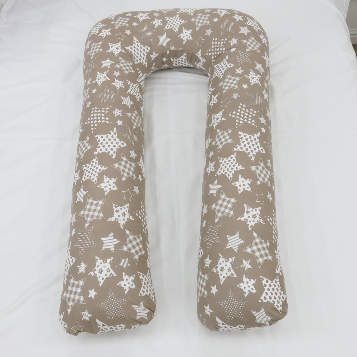 Подушка Mama Relax для беременных U XXL Нежные звезды