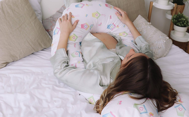 Подушка Mama Relax для беременных U 340 Base + Наволочка поплин lux Sweethome