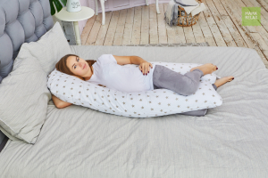 Подушка Mama Relax для беременных U 340 Optima + наволочка бязь Доброе утро