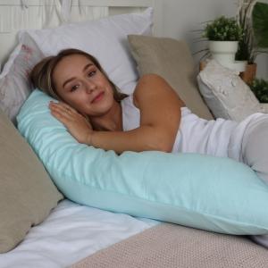 Подушка Mama Relax для беременных U 280 Base + Наволочка сатин Тиффани